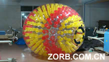 Color tube with Zorb Ball,nuclear globe