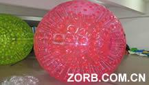 Pink Zorb Ball